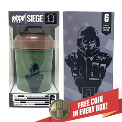 Thermite - 6-SIEGE COLLECTOR CUP + COLLECTOR COIN - 24oz