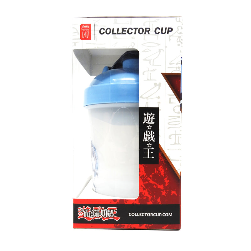 Yu-Gi-Oh! Blue Eyes White Dragon Collector Cup + Collector Keychain - 24oz