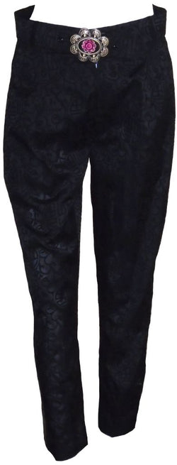 Black Chinese Trousers
