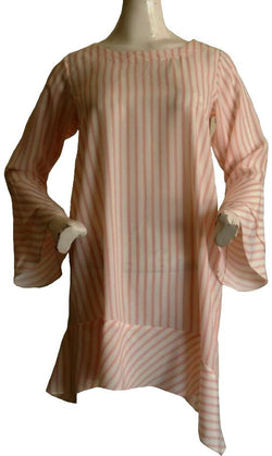 Candy Floss Striped Top