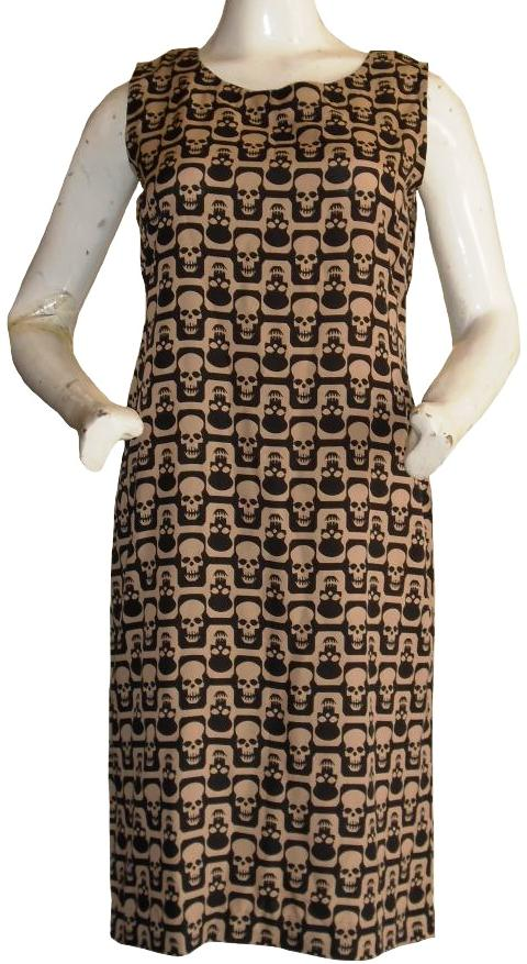 Skull Sheath Dress