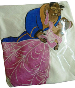 Beauty and the Beast Embroidered Cushion