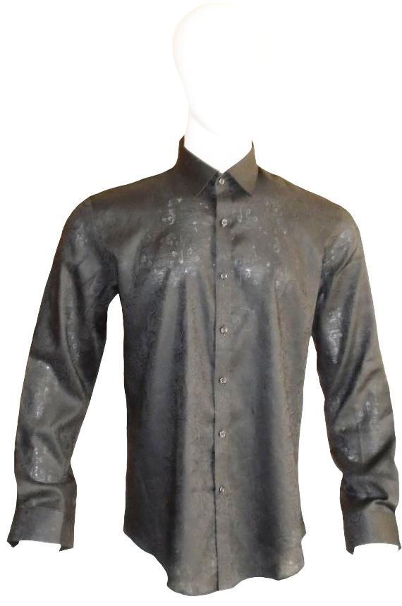 Black Formal Western Shirt