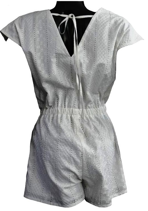 White Chicken Playsuit