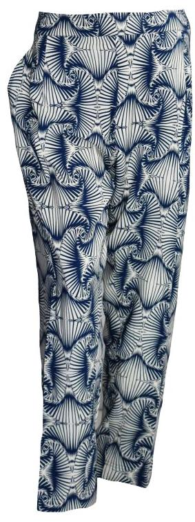 Blue Whirls Trouser