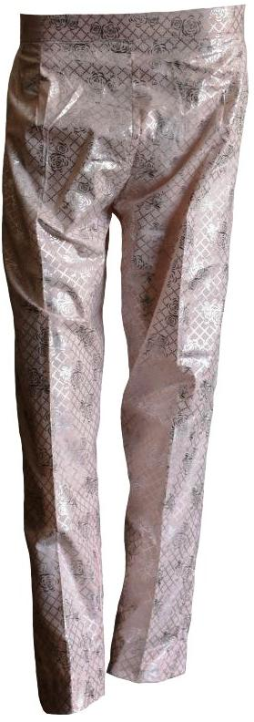 Pink and Silver Trousers