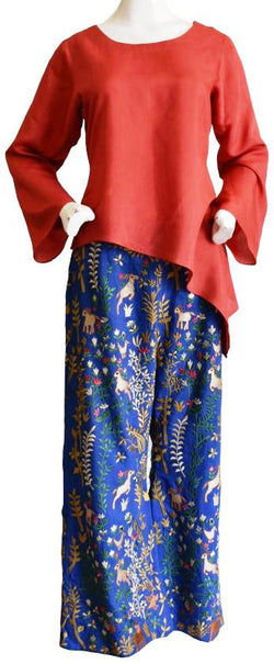 Short Kameez and Highly Embellished Trouser Set