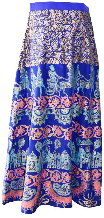 Electric Blue Lehenga