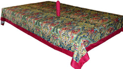 Colourful Paisley Table Cover Set