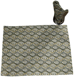 Black and Gold Table Mat Set
