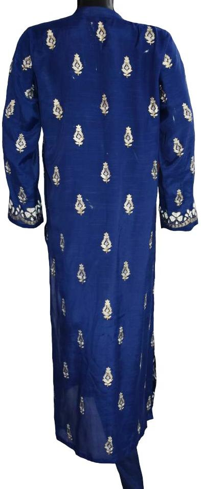 Royal Blue Block Printed Ensemble