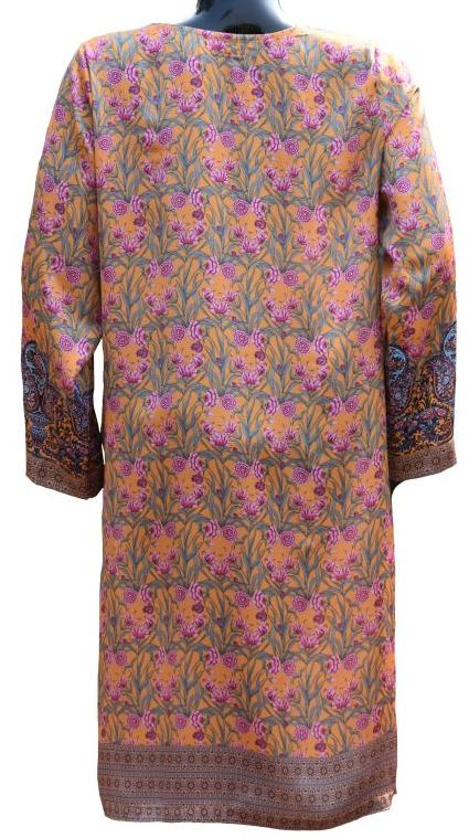 Islamic Art Inspired Floral Print