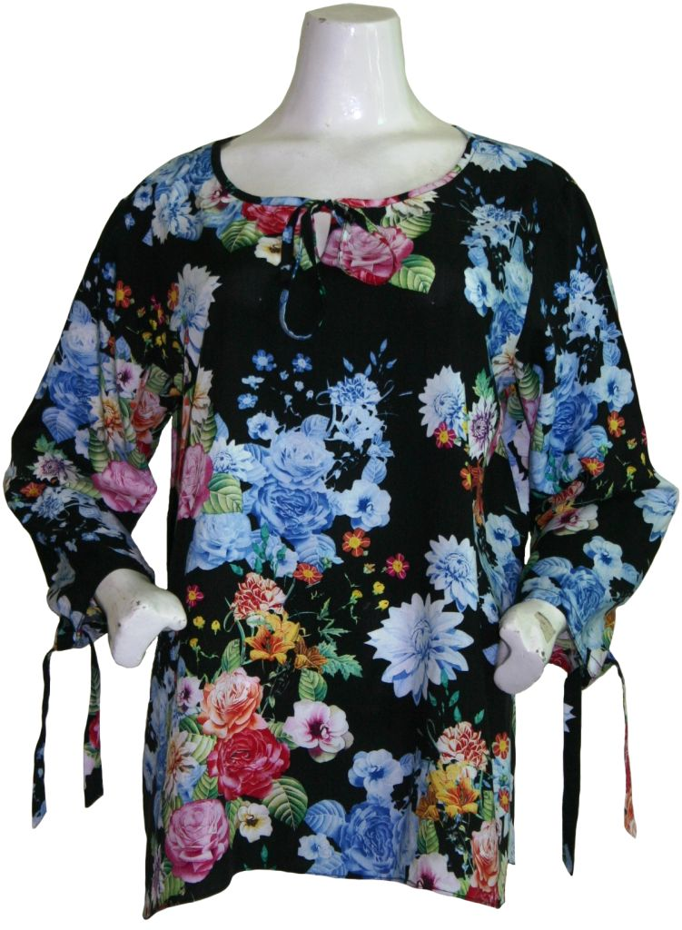 Flower Tunic Top