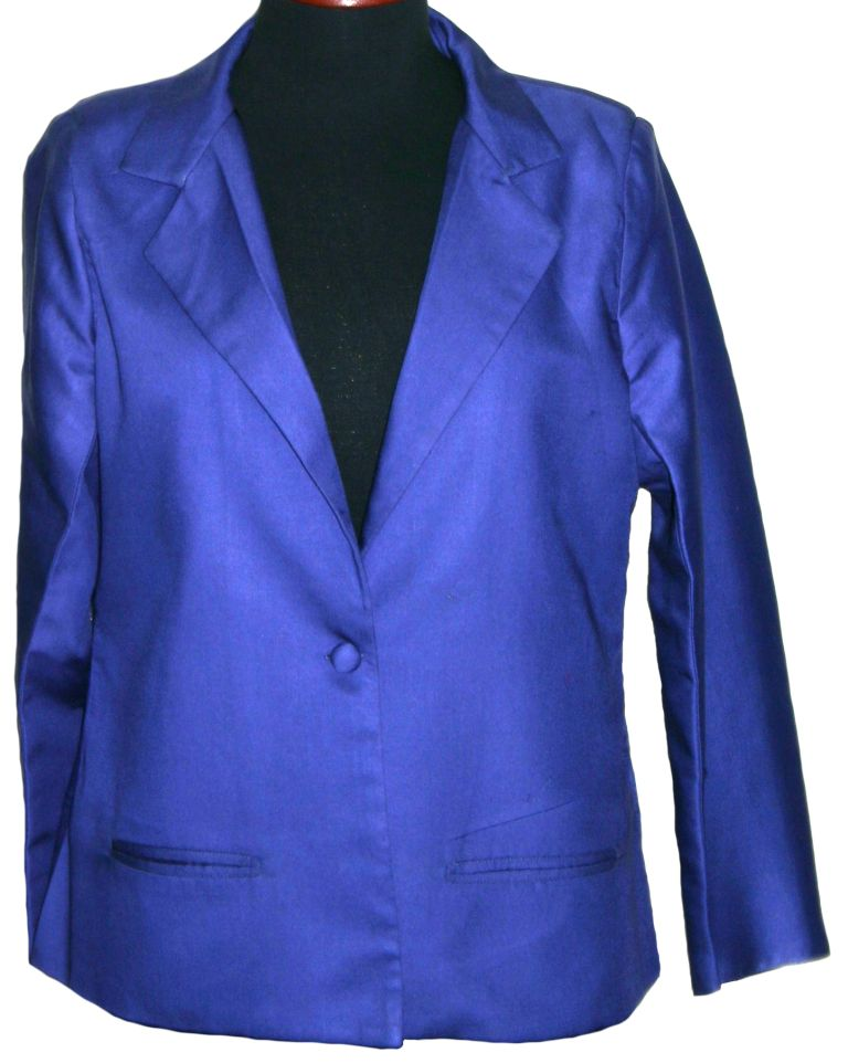 Royal Purple Blazer