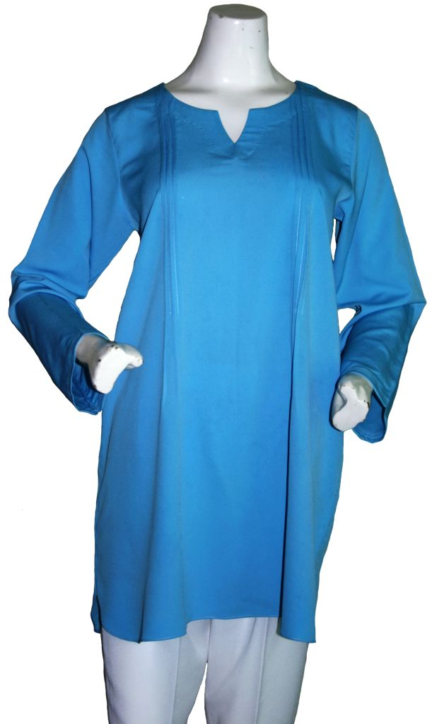 Sky Blue Tunic Set