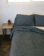 Load image into Gallery viewer, Hemp Duvet - Jodhpur Blue Stripe