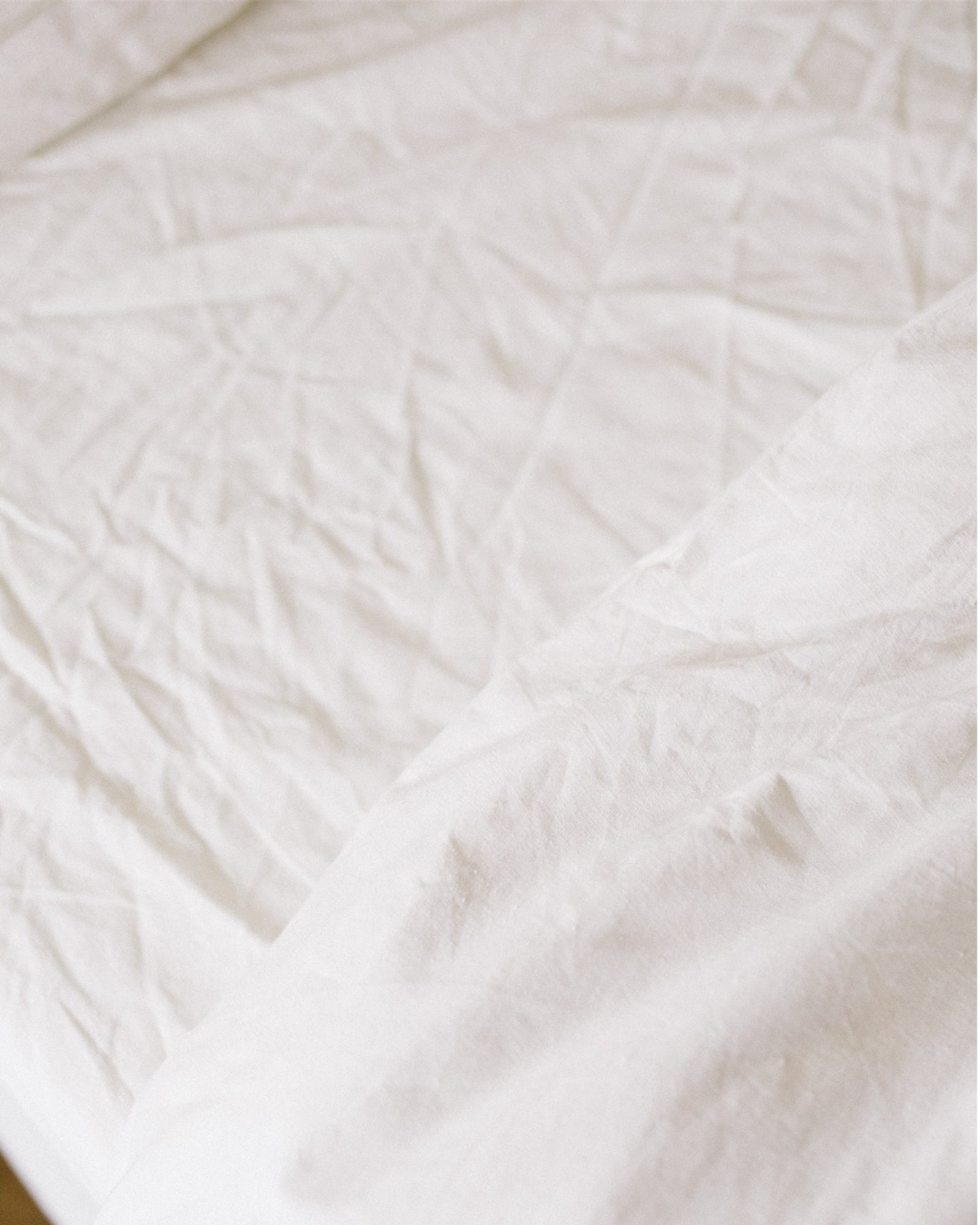 Hemp Fitted Sheet - Natural
