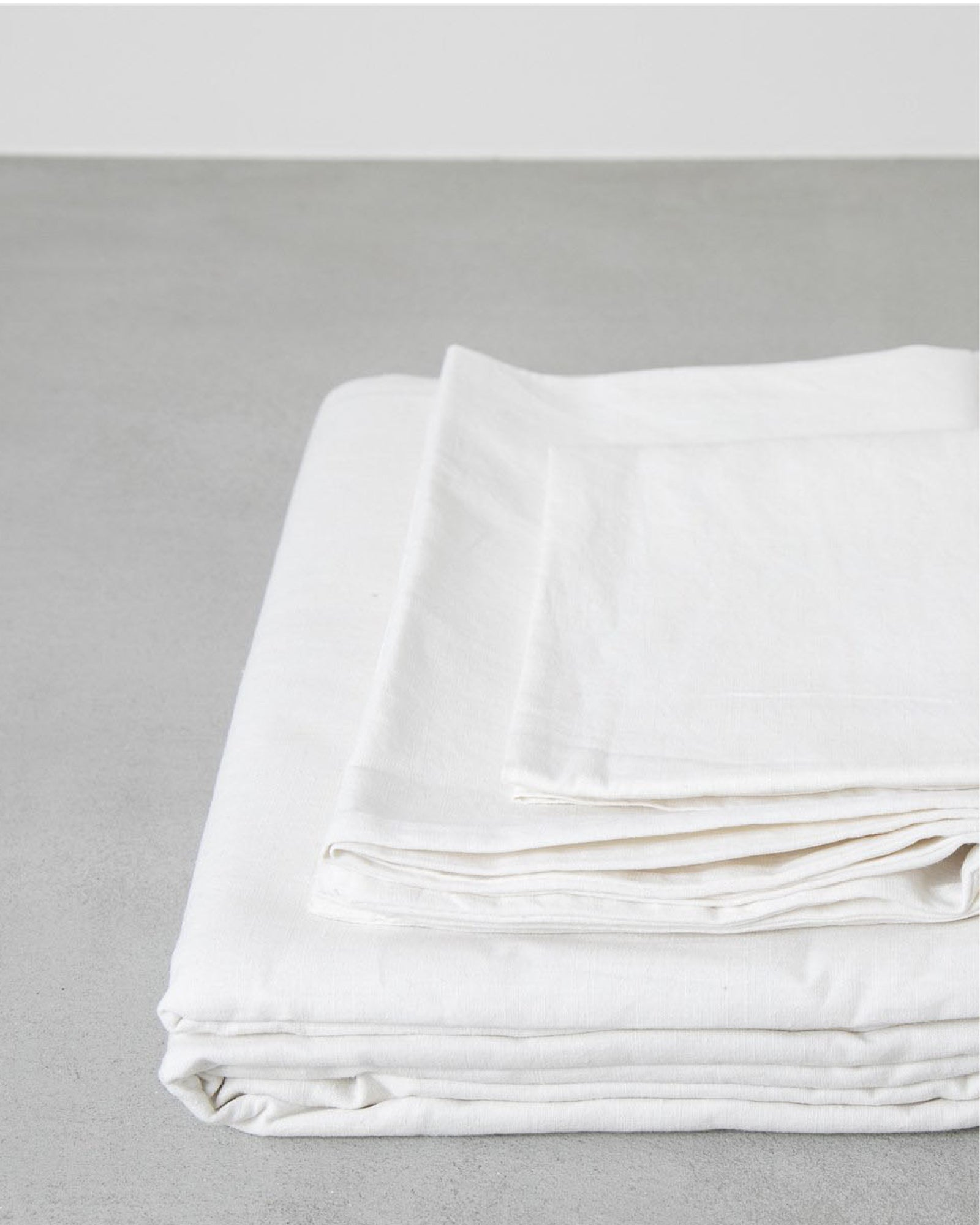 Hemp Flat Sheet - Natural