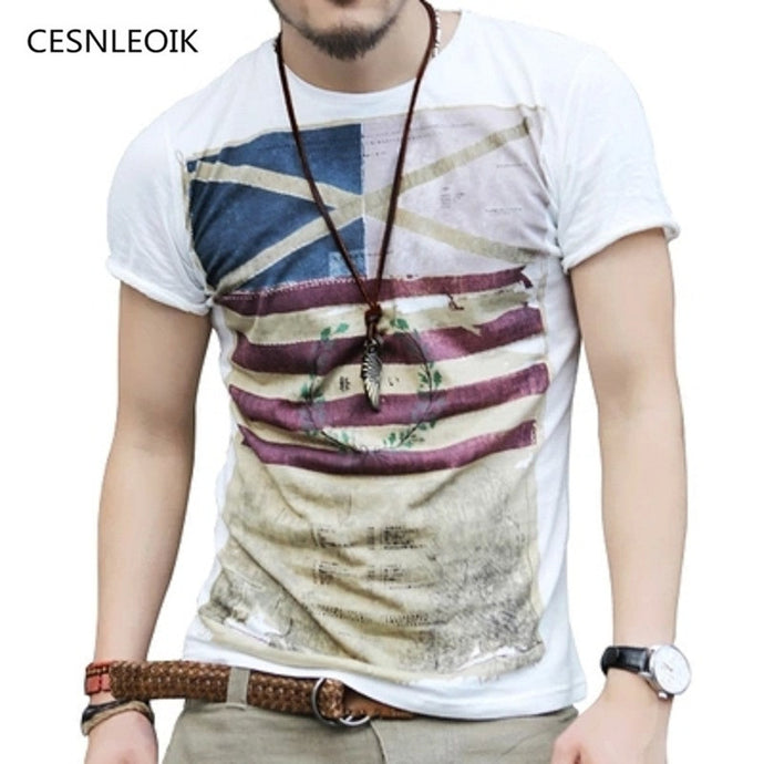 New Mens Summer t shirt fashion casual