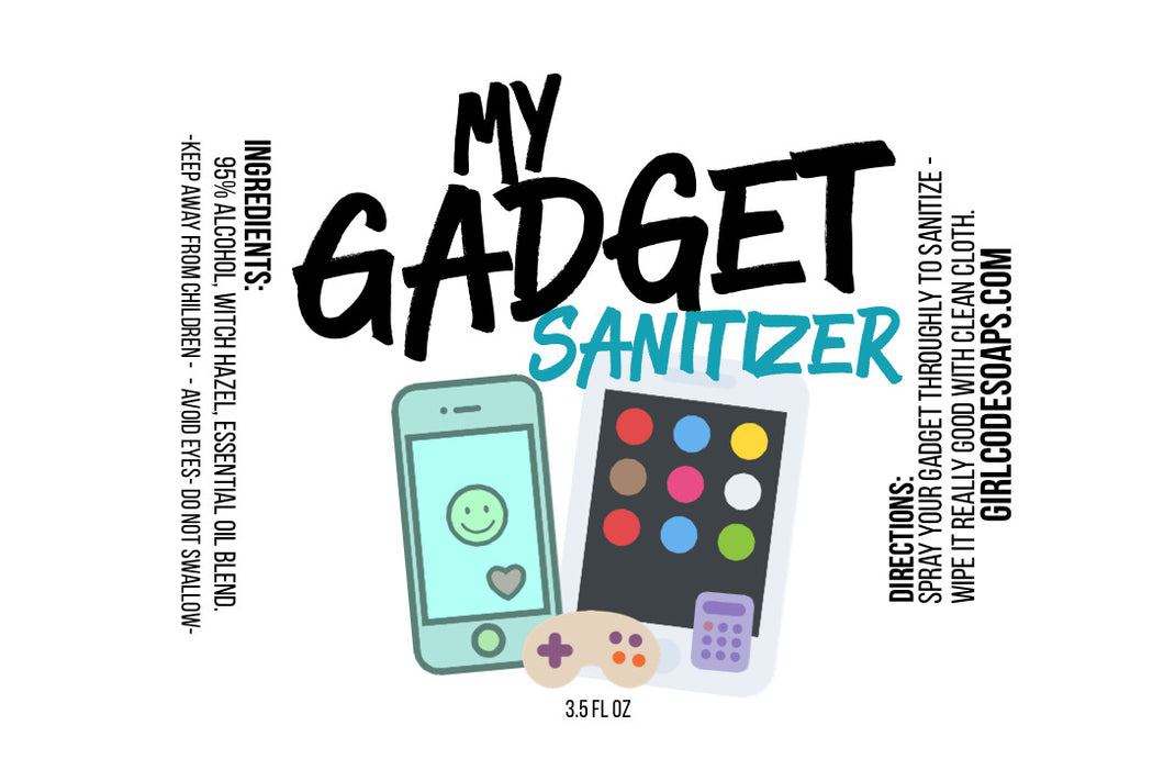 My Gadget Sanitizer