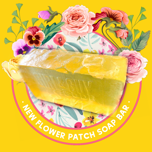 Flower Patch Soap Bar
