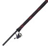 Red and black fishing rod protective case 8ft to 9ft