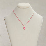 Neon Pink Cupid Necklace | Neon Pink Cupid Necklace