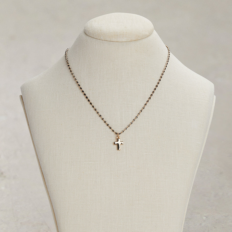 Gold Cross Necklace | Gold Cross Necklace
