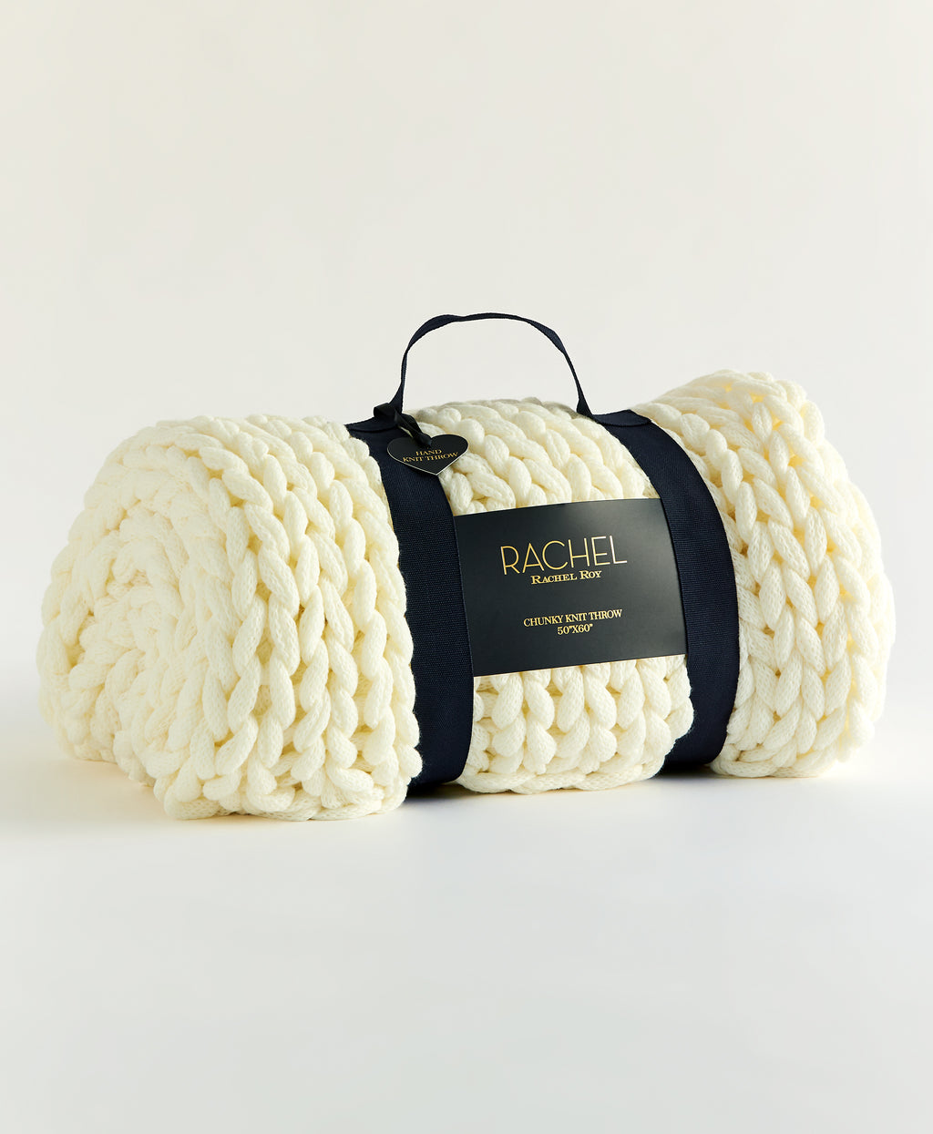 CHUNKY KNIT THROW | IVORY