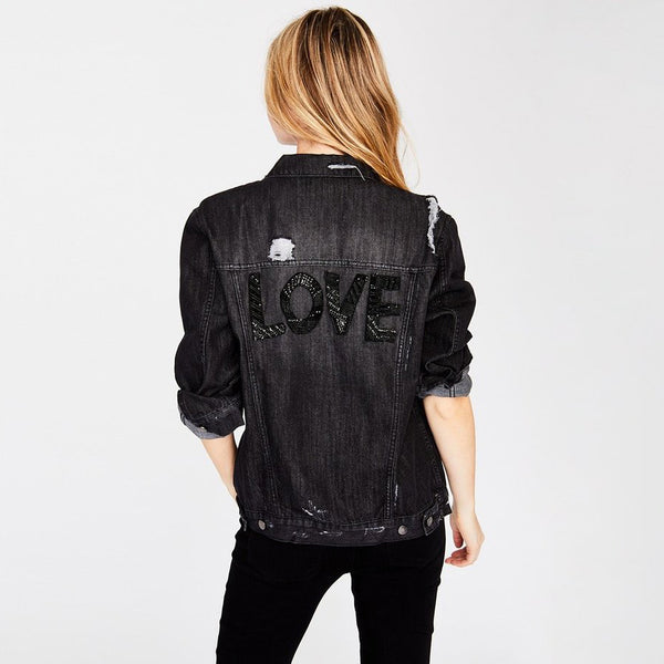 Love Denim Jacket - Benefits Everytown