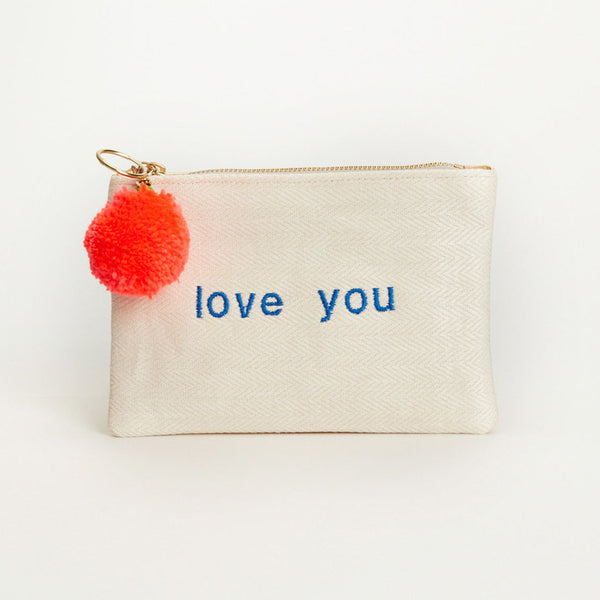 Made by Artisans - Love You Pouch