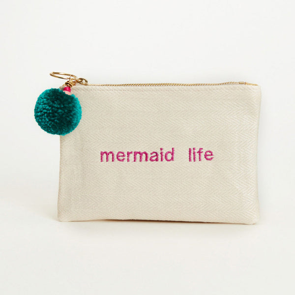 Made by Artisans - Mermaid Life Pouch