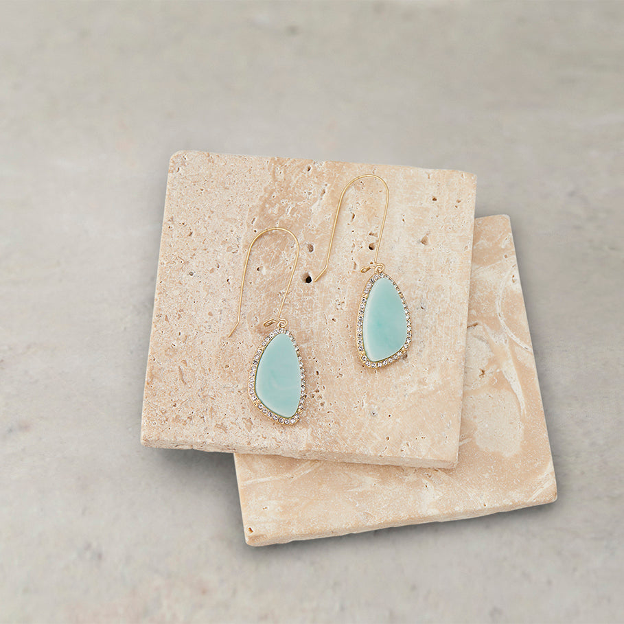 Blue Jasmine Drop Earrings | Blue Jasmine Drop Earrings