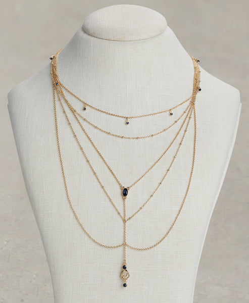 WHY LAYER NECKLACE