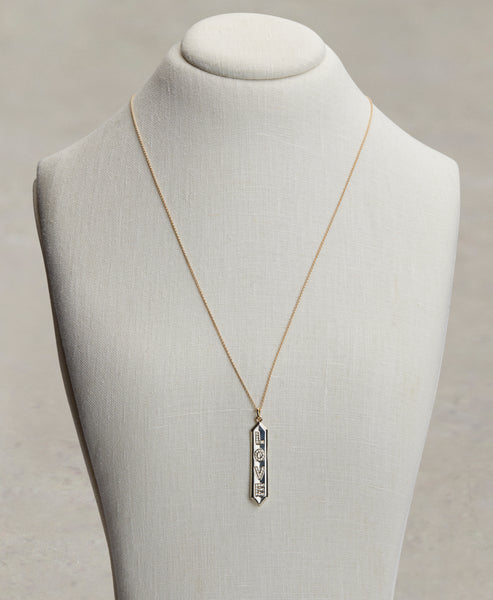 LOVE ID PENDANT NECKLACE