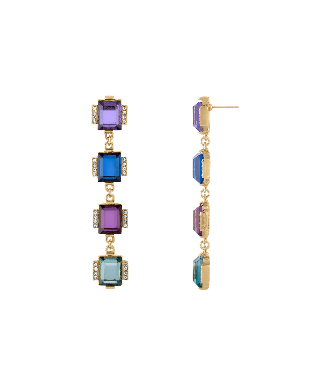 Gem palace earring  | MULTI
