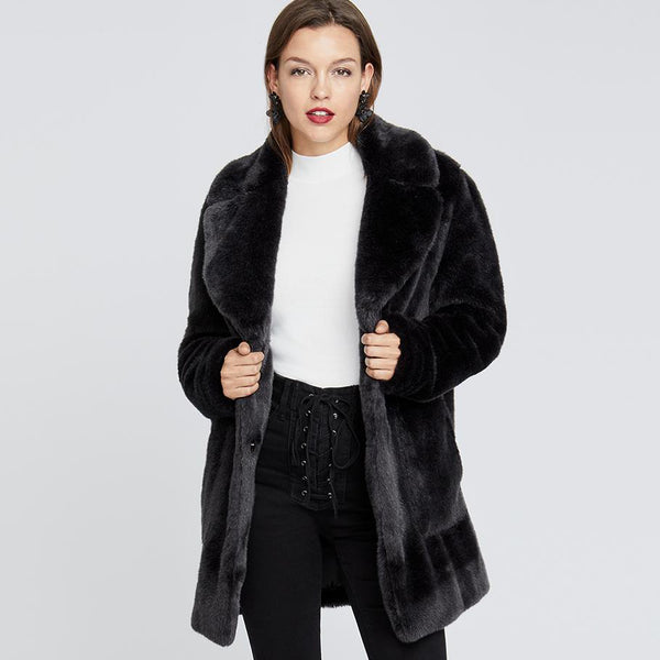 Faux Fur Topper