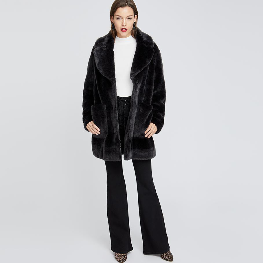 Faux Fur Topper | Faux Fur Topper