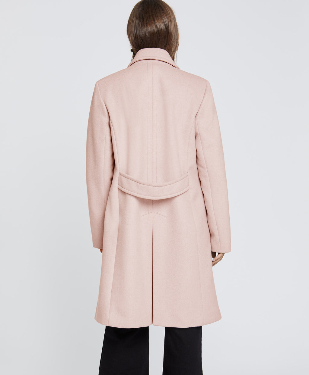 Blush Double Breasted Coat | Blush Double Breasted Coat