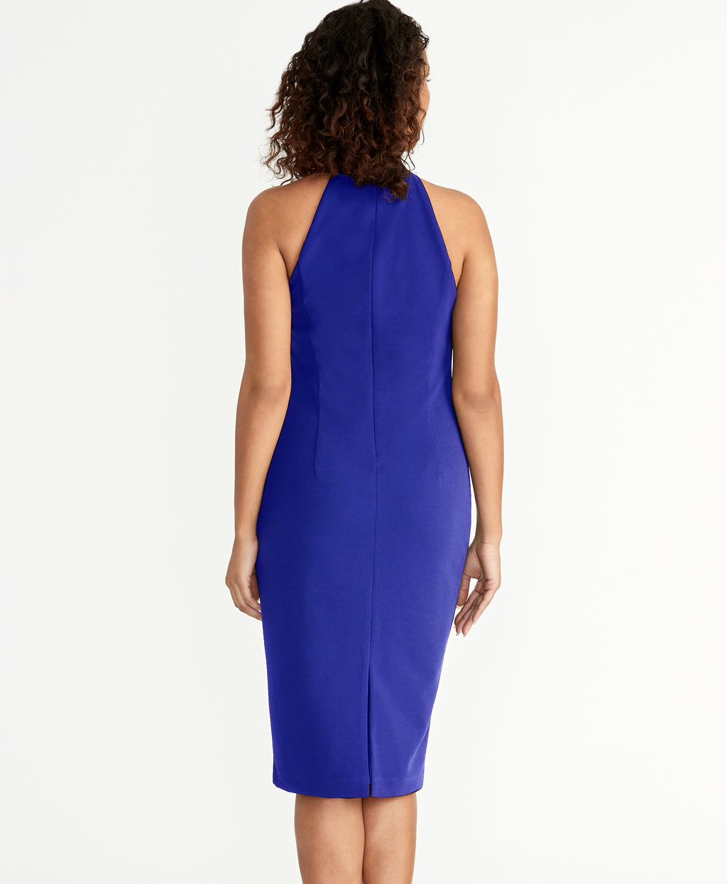 Harland Dress | SILK BLUE