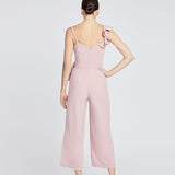 REED WRAP JUMPSUIT | MAUVE