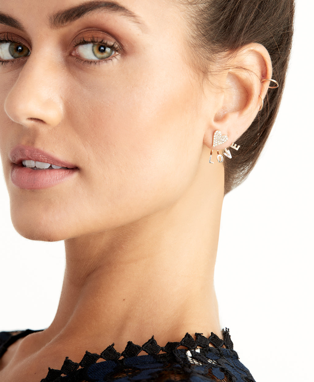 LOVE FLOATER EARRING | LOVE FLOATER EARRING