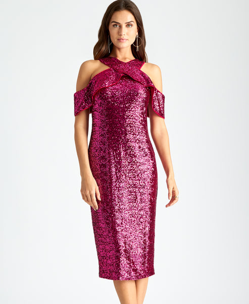 DEEP ORCHID SEQUIN