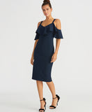 Marcella Dress | Navy