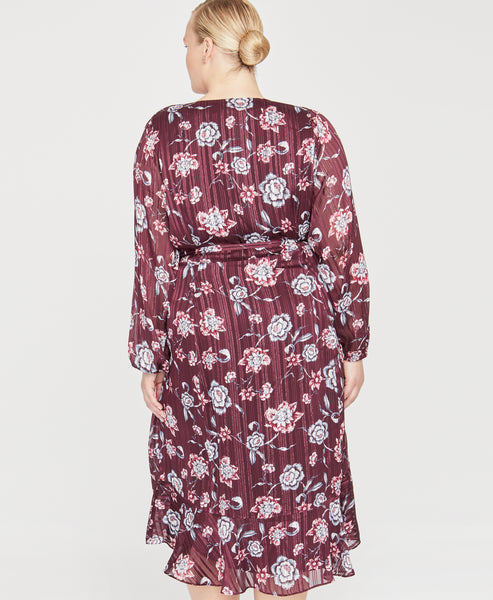 CARON WRAP DRESS