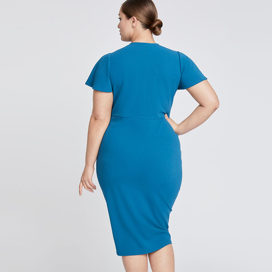 Pippa Dress | TEAL BLUE