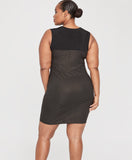 Callie Dress | BLACK/GOLD