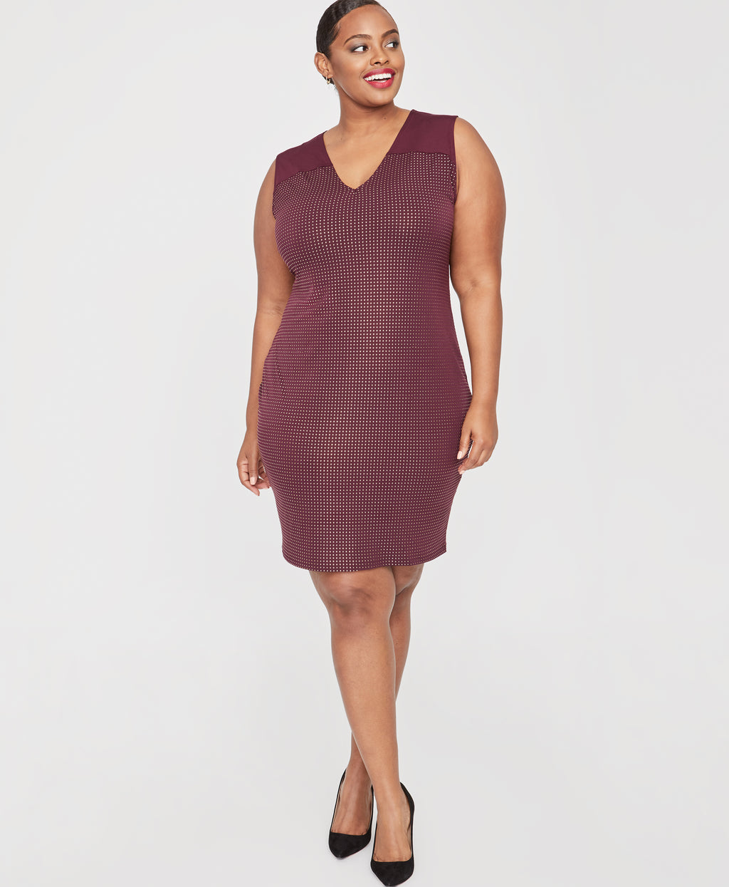 Callie Dress | Royal Orchid