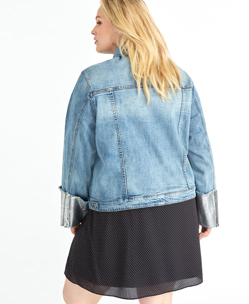 Foil Denim Jacket