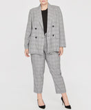 Glen Plaid Check Blazer | Glen Plaid Check Blazer